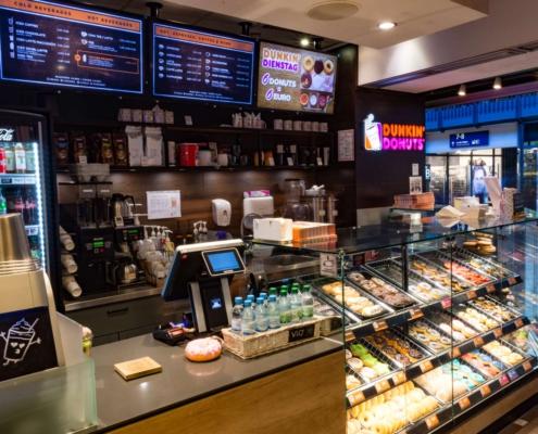 Dunkin' Donuts Wandelhalle
