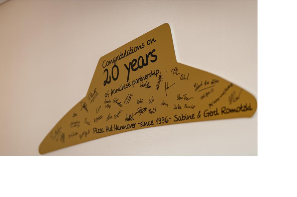 20 Jahre Pizza Hut
